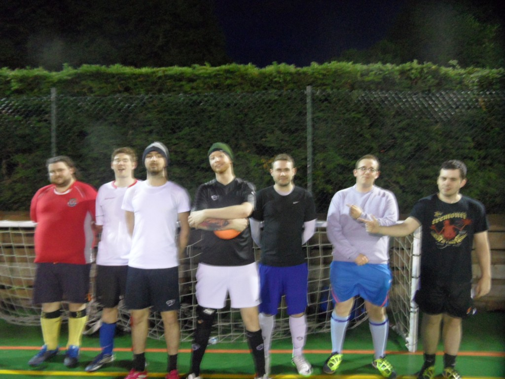 Team Gareth - Gaji, Rolan, Dan, Gareth, Karl P, Joe, Tom